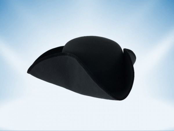 Chapeau tricorne, small - 58cm