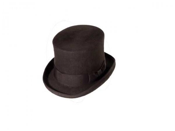 Chapeau Haut de Forme Steampunk marron – large - 59 cm