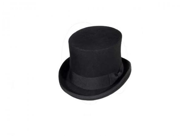 Chapeau Haut de Forme Steampunk noir – large - 59 cm