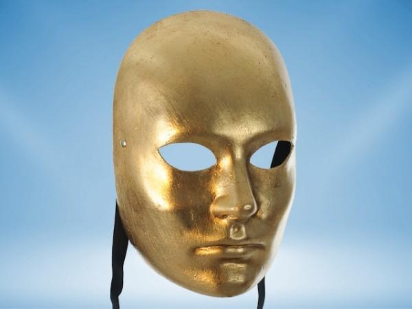 Masque Visage doré