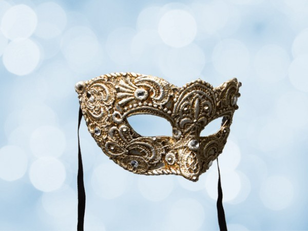 masque de bal v nitien en dentelle argent e pour homme. Black Bedroom Furniture Sets. Home Design Ideas