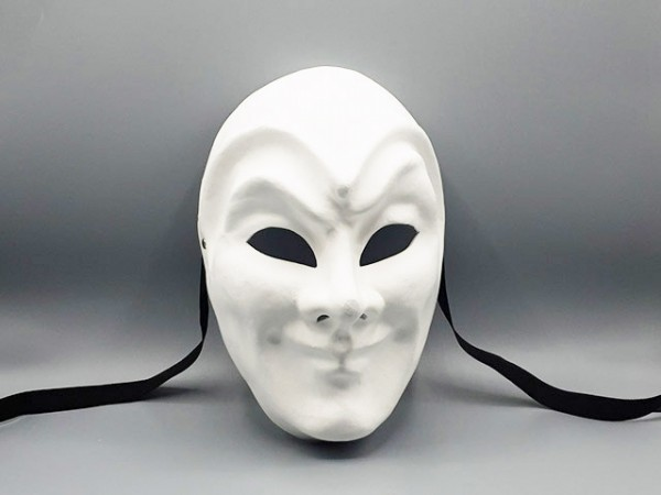 Masque du Joker blanc