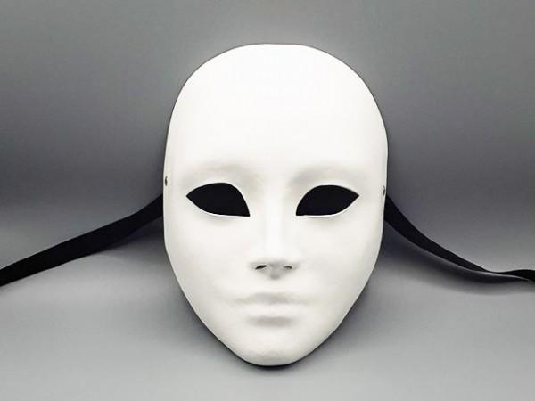 Masque visage blanc